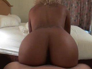 Blonde ebony girlfriend
