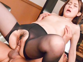 Misuzu Tachibana delights with cock in her tiny pussy